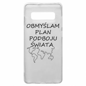 Phone case for Samsung S10+ I am thinking of a plan of conquest - PrintSalon