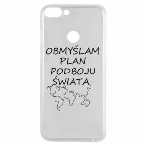 Phone case for Huawei P Smart I am thinking of a plan of conquest - PrintSalon