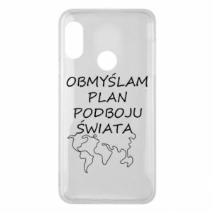 Phone case for Mi A2 Lite I am thinking of a plan of conquest - PrintSalon