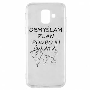 Phone case for Samsung A6 2018 I am thinking of a plan of conquest - PrintSalon