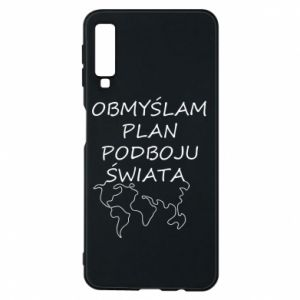 Phone case for Samsung A7 2018 I am thinking of a plan of conquest - PrintSalon