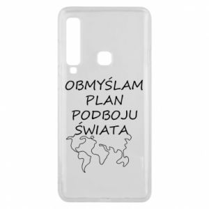 Phone case for Samsung A9 2018 I am thinking of a plan of conquest - PrintSalon
