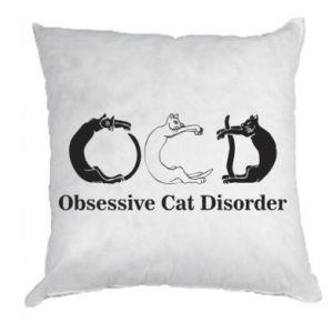 Poduszka Obsessive cat disorder