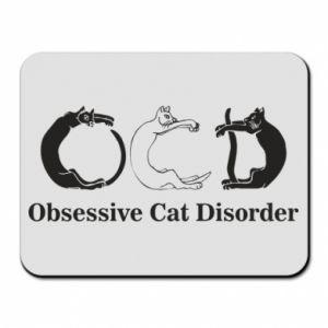 Podkładka pod mysz Obsessive cat disorder