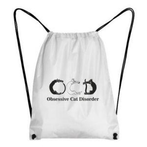 Plecak-worek Obsessive cat disorder