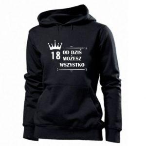 Women's hoodies Od dziś wszystko możliwe - PrintSalon