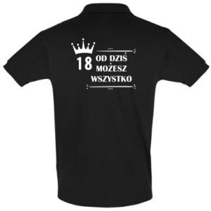 Men's Polo shirt Od dziś wszystko możliwe - PrintSalon