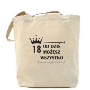 Bag Od dziś wszystko możliwe