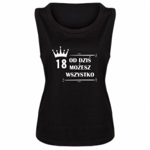Damska koszulka Od dziś wszystko możliwe - PrintSalon