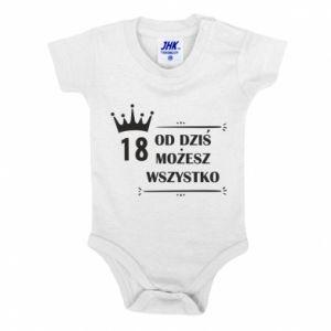 Baby bodysuit Od dziś wszystko możliwe - PrintSalon