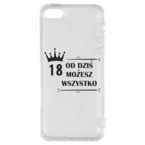 iPhone 5/5S/SE Case Od dziś wszystko możliwe