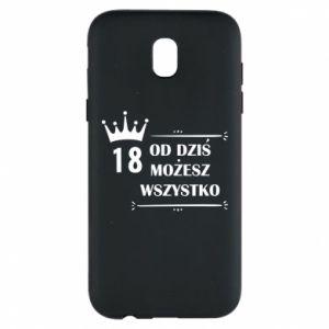 Samsung J5 2017 Case Od dziś wszystko możliwe