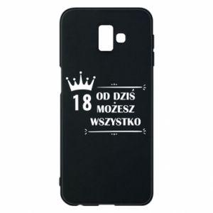 Samsung J6 Plus 2018 Case Od dziś wszystko możliwe