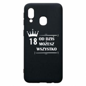 Samsung A40 Case Od dziś wszystko możliwe