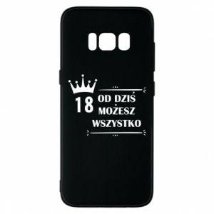 Etui na Samsung S8 Od dziś wszystko możliwe