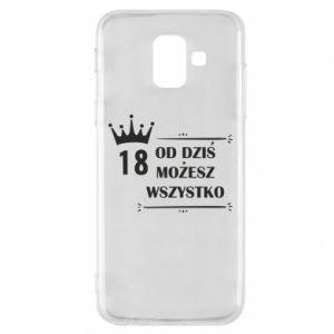 Samsung A6 2018 Case Od dziś wszystko możliwe