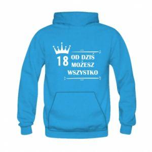 Kid's hoodie Od dziś wszystko możliwe