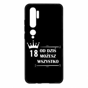 Xiaomi Mi Note 10 Case Od dziś wszystko możliwe
