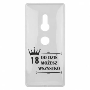 Sony Xperia XZ2 Case Od dziś wszystko możliwe