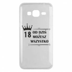 Samsung J3 2016 Case Od dziś wszystko możliwe