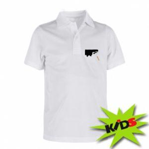 Dziecięca koszulka polo Odśwież! - PrintSalon