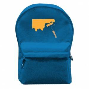 Plecak z przednią kieszenią Odśwież! - PrintSalon