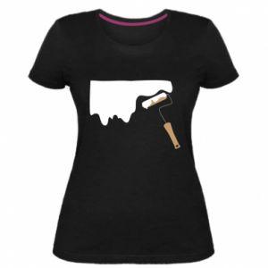 Damska premium koszulka Odśwież! - PrintSalon