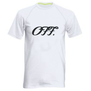 Męska koszulka sportowa Off.