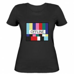 Koszulka damska Offline