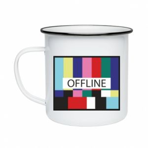 Enameled mug Offline
