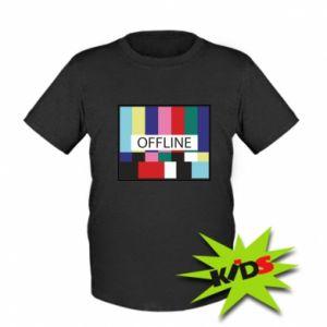 Koszulka dziecięca Offline