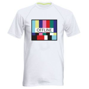 Męska koszulka sportowa Offline