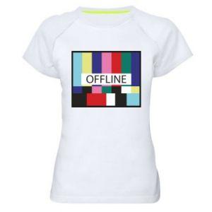 Koszulka sportowa damska Offline