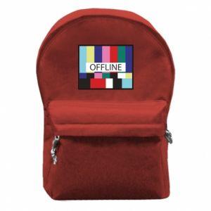 Plecak z przednią kieszenią Offline