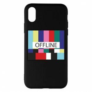 Etui na iPhone X/Xs Offline