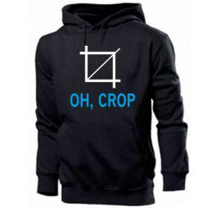 Men's hoodie Oh, crop