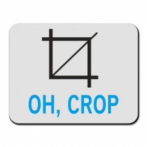 Podkładka pod mysz Oh, crop