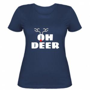 Koszulka damska Oh deer