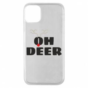iPhone 11 Pro Case Oh deer