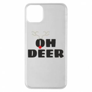 iPhone 11 Pro Max Case Oh deer