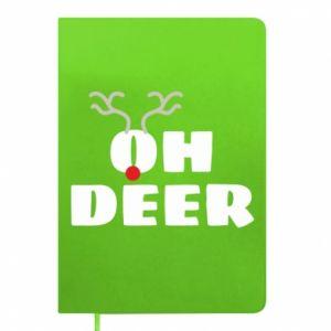 Notepad Oh deer