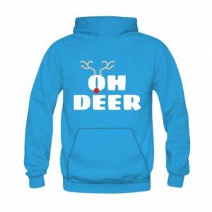 Kid's hoodie Oh deer