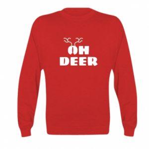 Kid's sweatshirt Oh deer