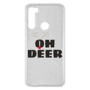 Etui na Xiaomi Redmi Note 8 Oh deer