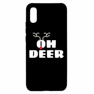 Xiaomi Redmi 9a Case Oh deer