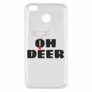 Xiaomi Redmi 4X Case Oh deer