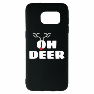 Samsung S7 EDGE Case Oh deer