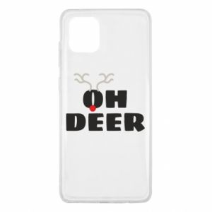 Samsung Note 10 Lite Case Oh deer