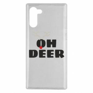 Samsung Note 10 Case Oh deer