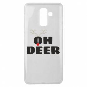 Samsung J8 2018 Case Oh deer